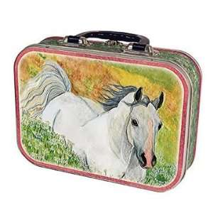 Horse In Meadow Lunch Box Toys & Games