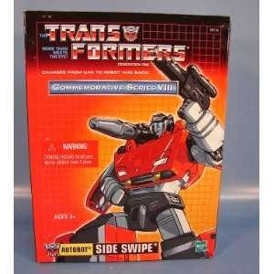 TRANSFORMERS Autobot Sideswipe Commemorative Series: Toys & Games