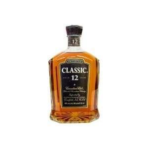 Club Classic 12Yr Canadian Whisky 750ml Grocery & Gourmet Food